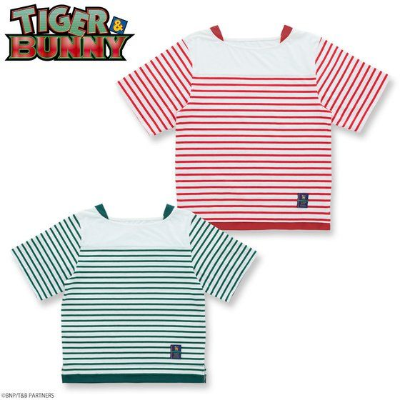 TIGER & BUNNY ボートネックボーダーTシャツ 【SOURCES GRIFFIN】 アニメ・キャラクターグッズ新作情報・予約開始速報