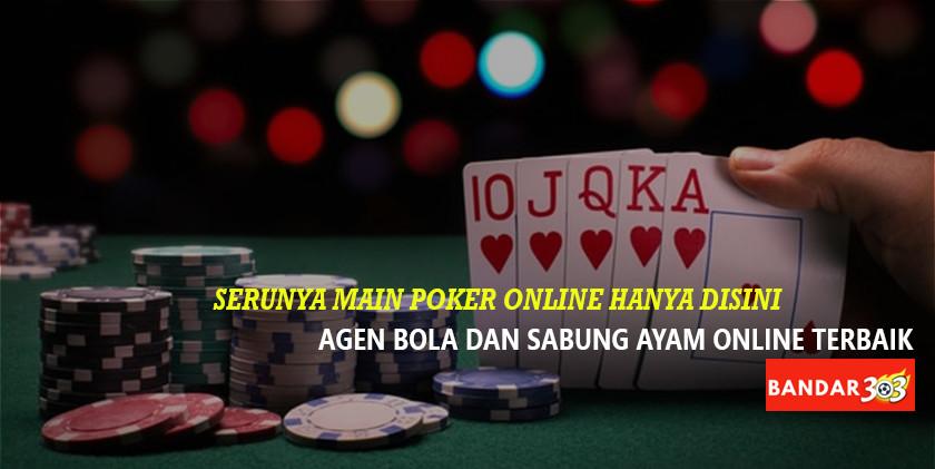 Serunya main P8 Poker Online BANDAR303
