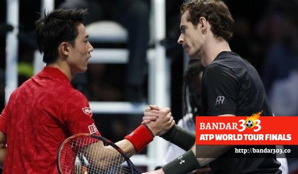 Andy Murray Kei Nishikori ATP World Tour Finals 2016