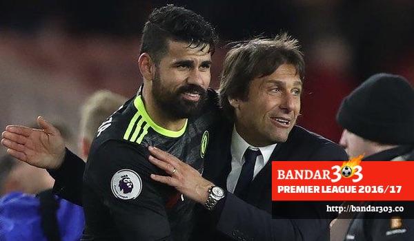 Antonio Conte Diego Costa Chelsea EPL 2016