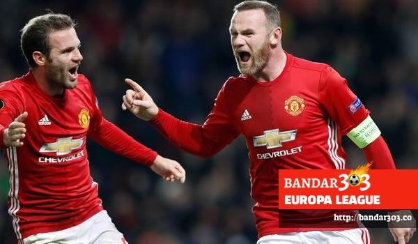 Wayne Rooney gol pertama Manchester United