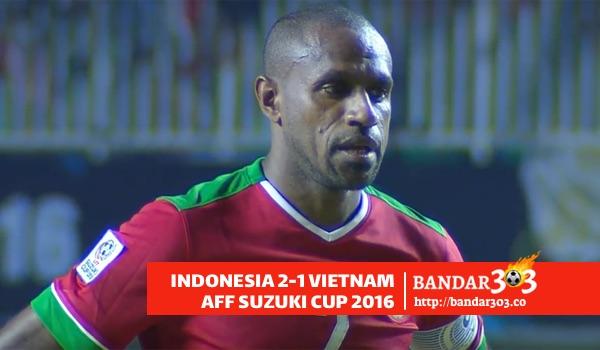 Boaz Solossa Penalti Indonesia Vietnam AFF Suzuki Cup