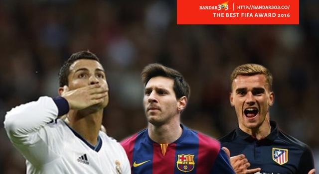 FIFA Ballon d'Or 2016 Bandar Bola