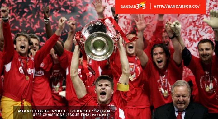 Steven Gerrard Liverpool Juara UCL Champions League 2005