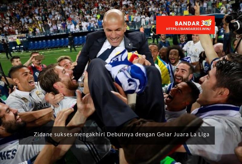 Zinedine Zidane piawai melatih Real Madrid