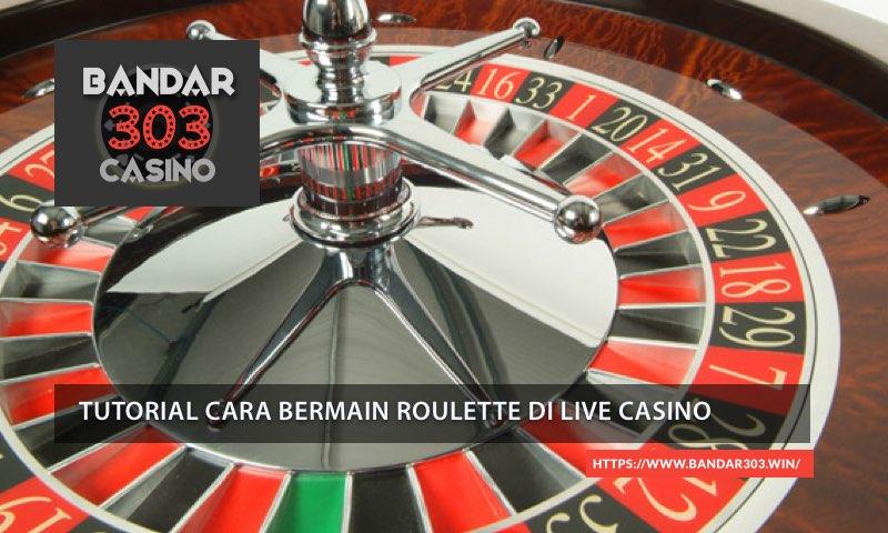 Roulette Live Dealer SBOBET