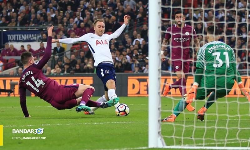 Christian Eriksen Premier League Spurs M City