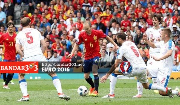 Andres Iniesta Spanyol Euro 2016