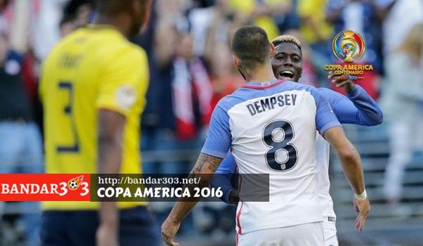 Gyasi Zardes Amerika Serikat Copa America 2016