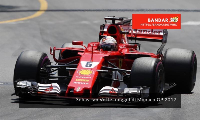 Sebastian Vettel Ferarri Monaco GP