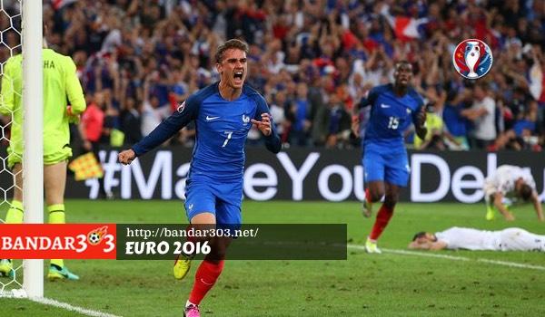 Antoine Griezmann Perancis EURO 2016