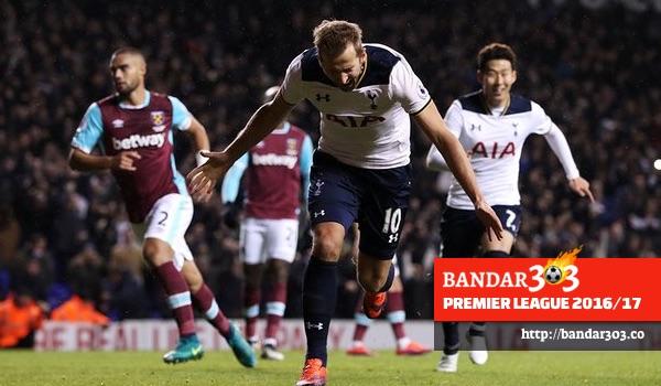 Harry Kane gol Tottenham Hotspur West Ham United EPL 2016