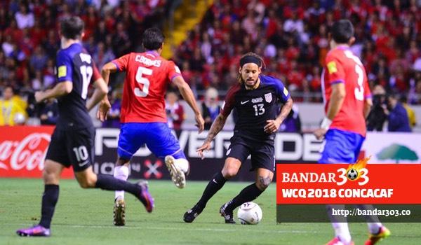 Kosta Rika Amerika Serikat WCQ 2018 CONCACAF