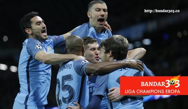 Manchester City Barcelona Liga Champions Eropa