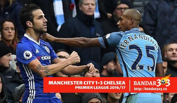 Fernandinho Manchester City EPL