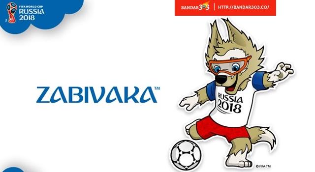 Zabivaka Srigala FIFA World Cup 2018 Russia
