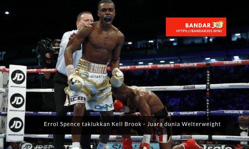Errol Spence IBF Welterweight Kell Brook