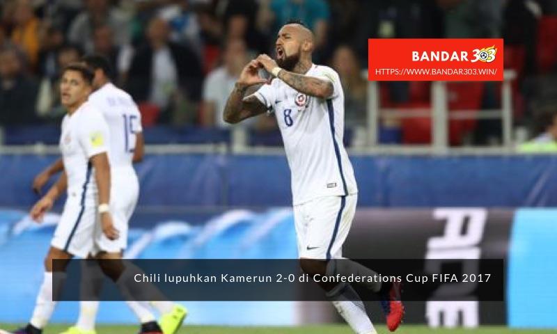 Arturo Vidal gol Chili Confederations Cup FIFA 2017