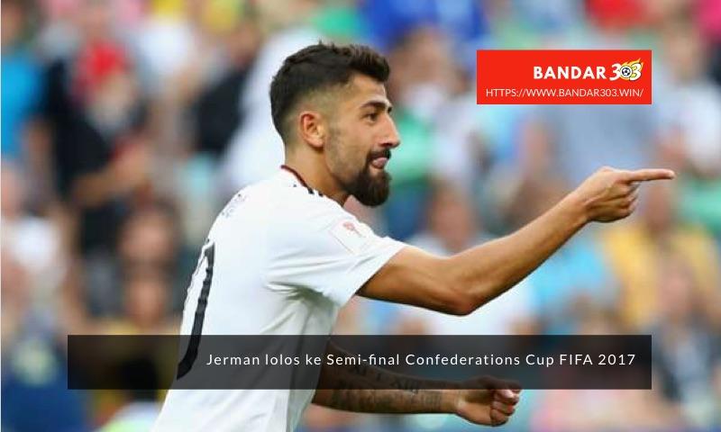 Kerem Dermibay gol Jerman Kamerun