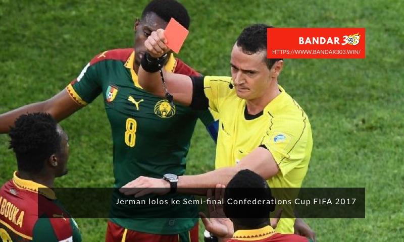 Kamerun 10 pemain Piala Konfederasi FIFA 2017