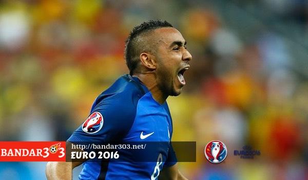 Dimitri Payet Perancis Euro 2016