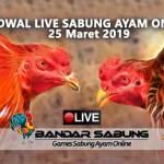 Jadwal Sabung Ayam Online S128 Dan SV388 25 Maret 2019