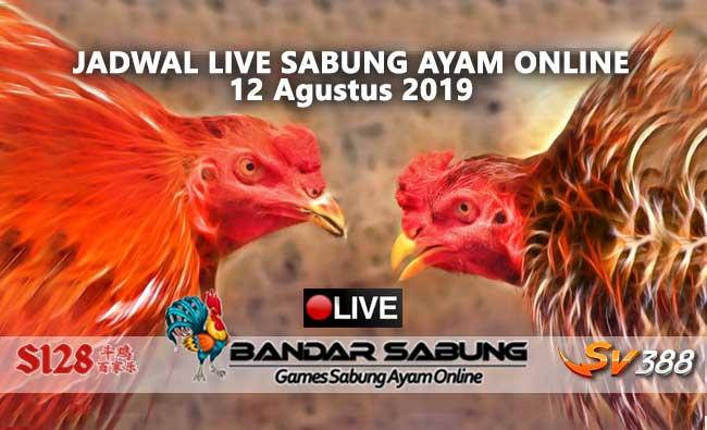 Jadwal Sabung Ayam Online S128 Dan SV388 12 Agustus 2019