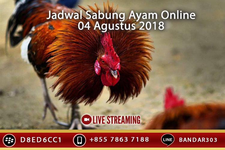 Jadwal Sabung Ayam Online S128 Dan SV388 04 Agustus 2018