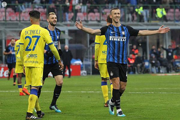 Laporan Pertandingan Inter Milan VS Chievo Dengan Skor 5 -0
