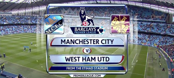 Prediksi Manchester City Vs West Ham 3 Desember 2017