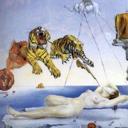 sonho causado_pelo_voo de_uma_abelha