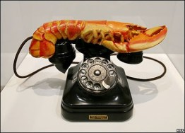 telefone lagosta dali