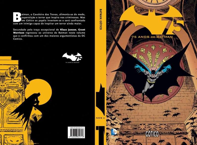 Capa 05 Batman Gotico
