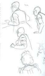 Hergé - As 7 bolas de cristal, poses (Jacobs 1)