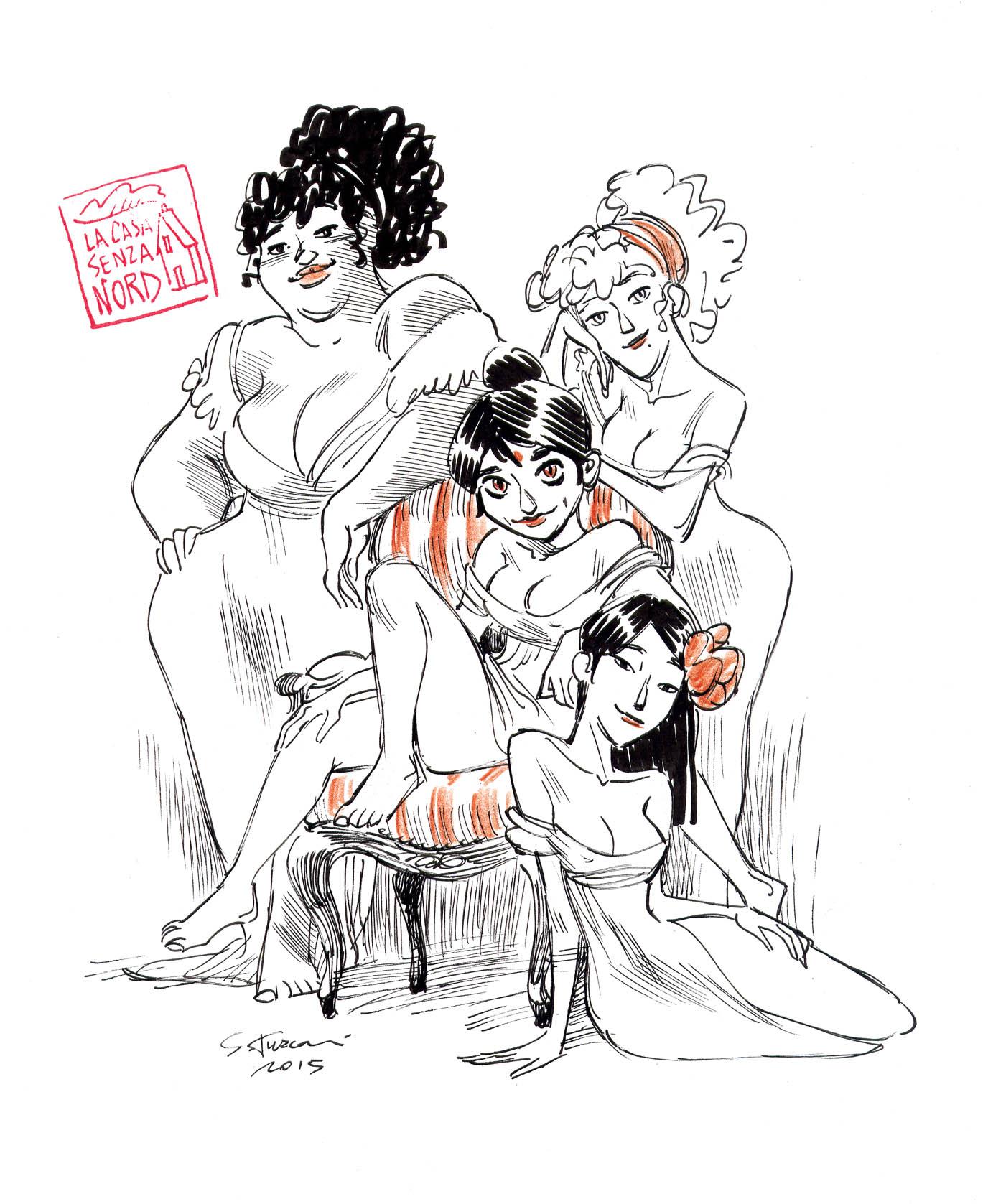 pillar's girls