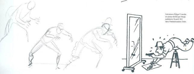 Hergé - As 7 bolas de cristal, poses (Jacobs)