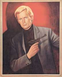 Ron Embleton 'Illya Kuryakin' David McCallum1966 [i]