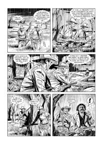 Aventura de Tex na arte de Massimo Rotundo