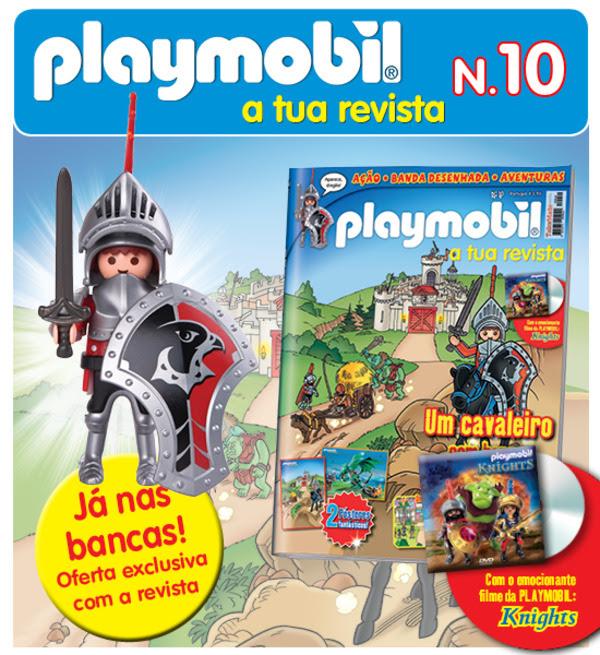 Playmobil 10 nas bancas