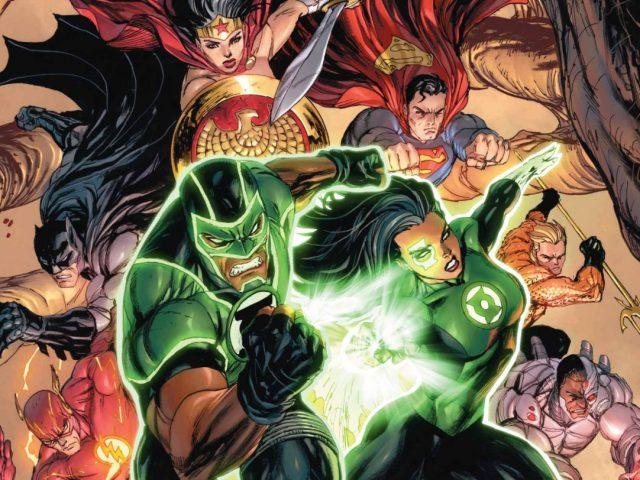 Green Lanterns 15 by Miguel Mendonça: previews