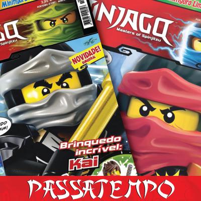 Passatempo: Lego Ninjago 1 a 3