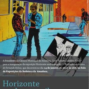Horizonte azul-tranquilo - Retrospetiva da obra de Fernando Relvas @ Amadora | Portugal