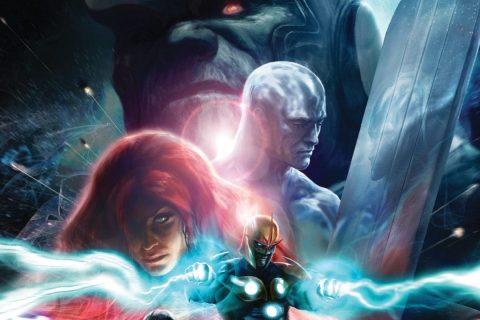 O 37.º da coleção Graphic Novels Marvel
