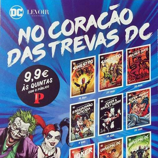 1º volume coleção No Coração das Trevas DC