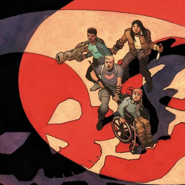 Occupy Avengers #8, com Jorge Coelho