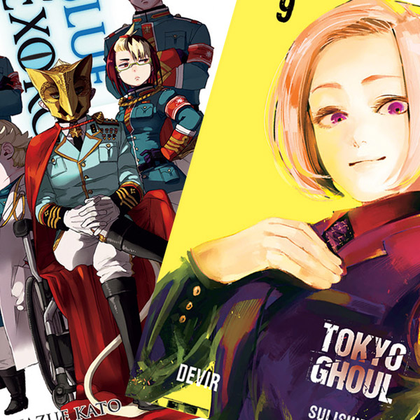 Novidades Devir Manga