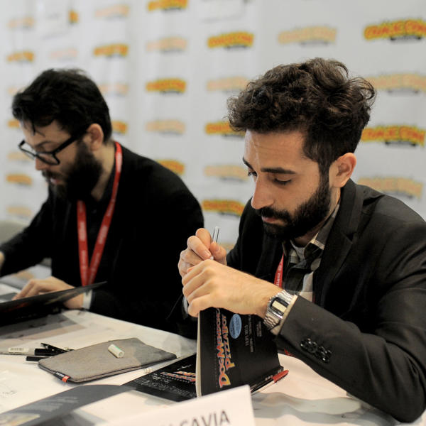 Filipe Melo & Juan Cavia na Comic Con 2017