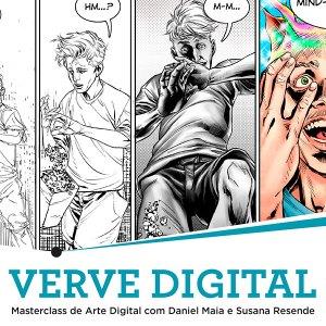 VERVE DIGITAL | Masterclass de Arte Digital com Daniel Maia e Susana Resende @ Biblioteca Municipal de São Domingos de Rana | São Domingos de Rana | Portugal