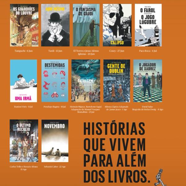 4ª Coleção Novelas Gráficas Levoir/Público