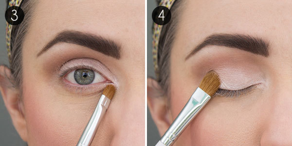 Line the inner rim of the lower lid with a flesh-toned pencil. This creates the illusion that the whites of your eyes extend farther. You can use a white ...